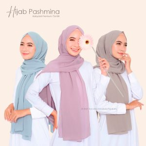 Hijab Pashmina Ceruti Babydoll Premium
